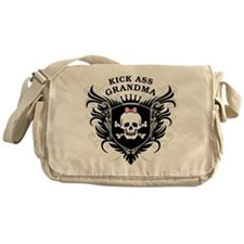 Kick Ass Grandma Messenger Bag