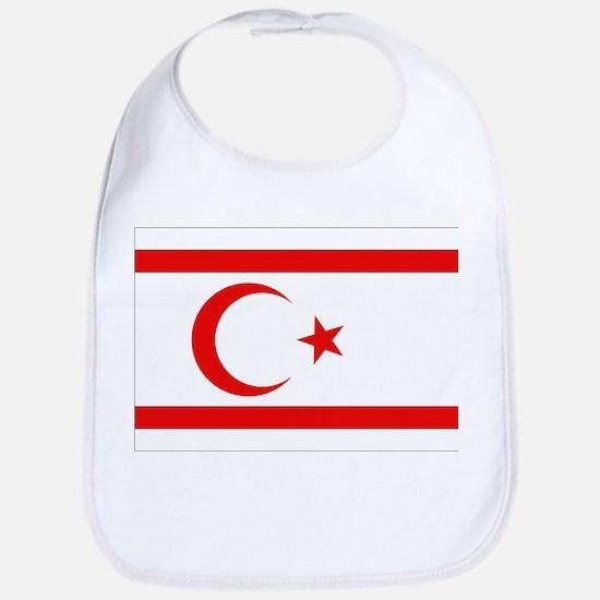 Northern Cyprus Flag Bib