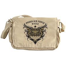 Proud Air Force Niece Messenger Bag
