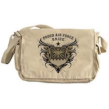 Proud Air Force Bride Messenger Bag