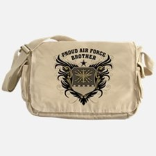 Proud Air Force Brother Messenger Bag
