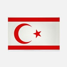 Northern Cyprus Flag Rectangle Magnet