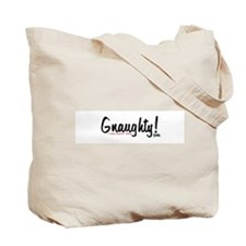 Gnaughty Brand Gnome Tote Bag