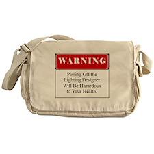 Pissing OffLighting Designer 001 Messenger Bag