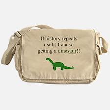 If History Repeats Messenger Bag