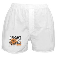 Fight Like A Girl For My MS Boxer Shorts