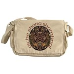 Gaelic Halloween Shield Messenger Bag