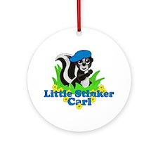 Little Stinker Carl Ornament (Round)