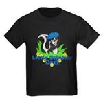 Little Stinker Carl Kids Dark T-Shirt