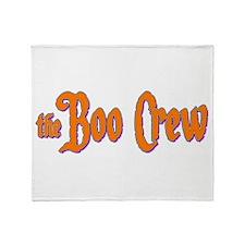 The Boo Crew Throw Blanket