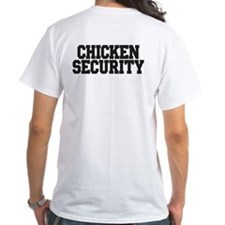 "Mens ""Chicken Security"" T Shirt"