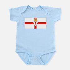 Northern Ireland Flag Infant Creeper