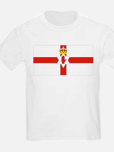 Northern Ireland Flag Kids T-Shirt