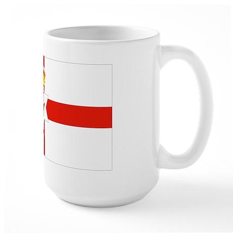 Northern Ireland Flag Large Mug