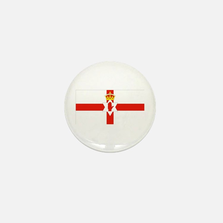 Northern Ireland Flag Mini Button