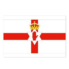 Northern Ireland Flag Postcards (Package of 8)