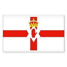 Northern Ireland Flag Rectangle Decal