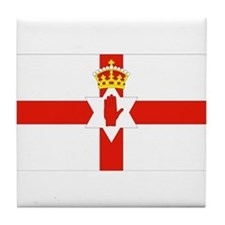 Northern Ireland Flag Tile Coaster