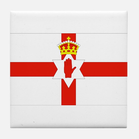 Northern Ireland Flag Tile Coaster