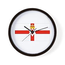 Northern Ireland Flag Wall Clock