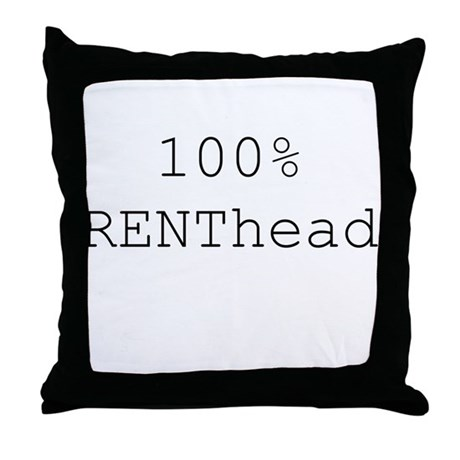 RENThead Throw Pillow