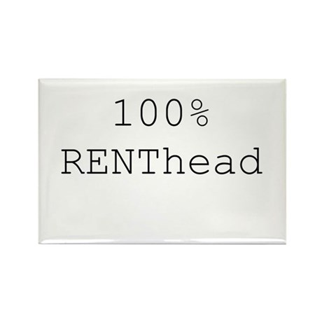 RENThead Rectangle Magnet (100 pack)