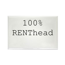 RENThead Rectangle Magnet (10 pack)