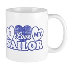 I Love My Sailor Mug