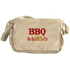 BBQ Love Messenger Bag