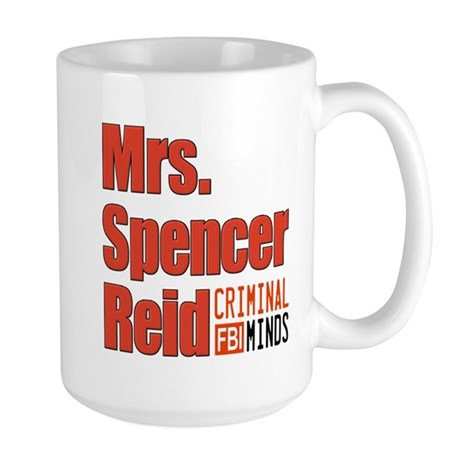 Mrs. Spencer Reid Large Mug