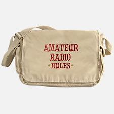 Amateur Radio Rules Messenger Bag