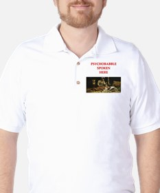 psychology joke Golf Shirt