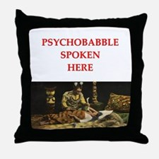 psychology joke Throw Pillow