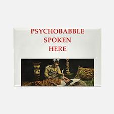psychology joke Rectangle Magnet