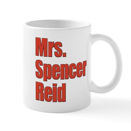 Mrs. Spencer Reid Criminal Minds Mug