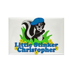 Little Stinker Christopher Rectangle Magnet (100 p