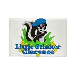 Little Stinker Clarence Rectangle Magnet (10 pack)
