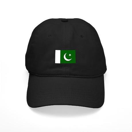 Pakistani Flag Black Cap