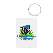 Little Stinker Clifford Aluminum Photo Keychain