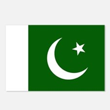 Pakistani Flag Postcards (Package of 8)