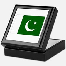 Pakistani Flag Keepsake Box