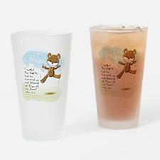 Psalms 34:4 Bible verse Drinking Glass