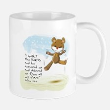 Psalms 34:4 Bible verse Mug