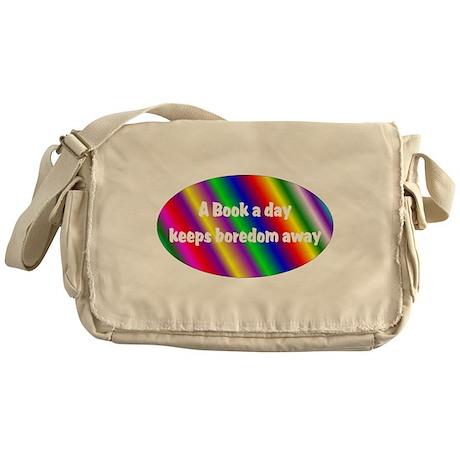 A Book a Day Messenger Bag
