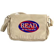 Read for Fun Messenger Bag