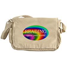 Reading World Messenger Bag