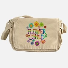Flower Child Messenger Bag