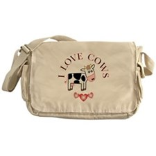 Cows Messenger Bag