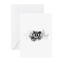 Akita Greeting Cards (Pk of 20)