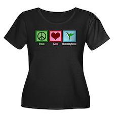 Peace Love Hummingbirds T